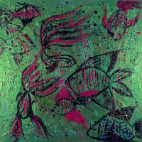 Fish – Contemporary Expressionist Ashtead Surrey Artist Shanon King