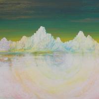 Glacial Spectrum Acrylic on Canvas – Artist Simon Oliver
