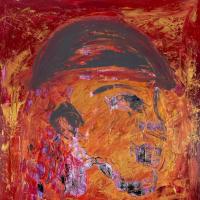 Soldier – War Animal – Expressionist Abstract Ashtead Surrey Artist Shanon King