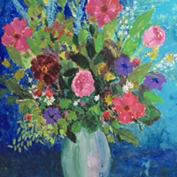 Summer Flower Bouquet – Fine Art Prints Gallery