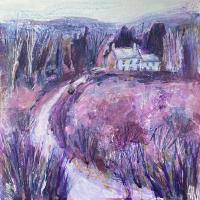 Albury Heath, Surrey Hills – Hidden Away – East Horsley Landscape Artist Anne Winstanley Wood