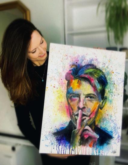 Aly Lloyd Guildford Surrey Portrait Artist