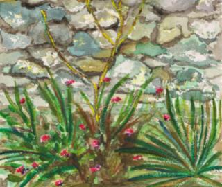 Wall - Carla Scarano Woking Art Society Artist